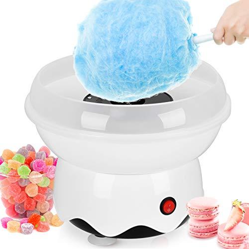 Kacsoo Zuckerwattemaschine, Haushalt Mini Kinder handgemachte Zuckerwatte Maker Süßigkeiten für Geburtstagsfeier Geschenk (Weiß) …
