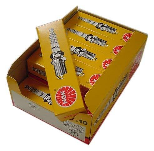 NGK Zündkerzen, Teilenummer, 10 Stück BR8ES - Lager-Nr. 5422 - 10er Pack