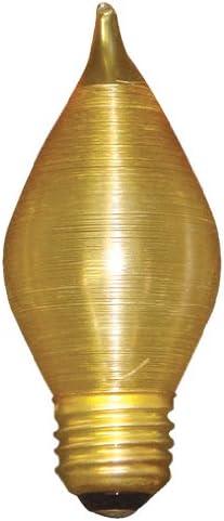Bulbrite 40C15A Japan's largest assortment 40-Watt Incandescent C15 Bul Spunlite Chandelier Quality inspection