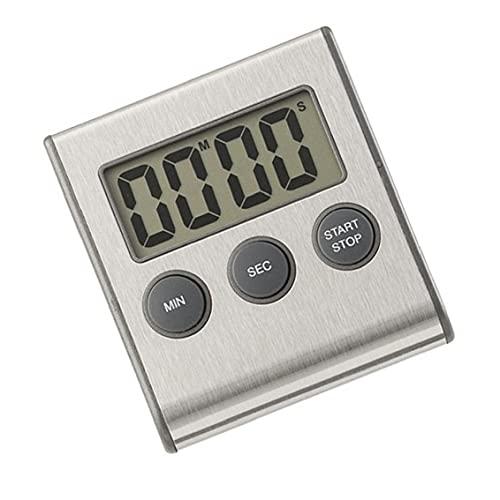 Digital Kitchen Timer LCD-skärm Matlagning Nedräkning Stopwatch Clock (inget batteri), kökstimer