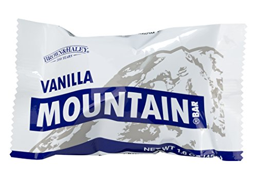 1.6 oz VANILLA MOUNTAIN BAR - Case of 15 Bars