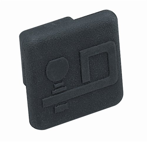Draw-Tite 2211 Rubber Receiver Tube Cover with Logo for 1-1/4-Inch Receivers -  Horizon Global Corporation