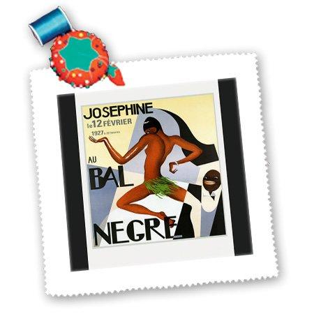 3dRose qs_181027_4 Bild des afrikanischen amerikanischen Tanzes, quadratisch, 30,5 x 30,5 cm