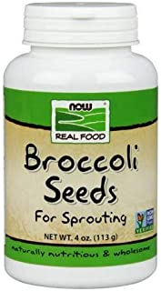 Broccoli Seeds, 4 oz by Now Foods (Pack of 2)