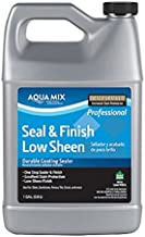 Aqua Mix Seal & Finish Low Sheen Durable Coating Sealer 1 Gallon