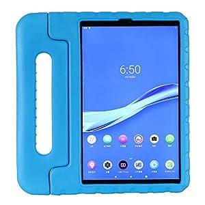 ZiHang Funda Infantil Lenovo Tab M10 Plus TB-X606F 10.3, Carcasa Niño Antigolpes con Asa Convertible Tapa de Soporte, Funda Bebé Ligera para Lenovo Tab M10 Plus TB-X606F 10.3 (Azul)