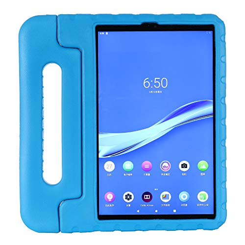 KAVON Case for Lenovo Tab M10 Plus TB-X606F 10.3 Inch , EVA Shockproof Convertible Handle Stand Protective Cover, Lightweight Tablet Case for Kids 10.3 Inch (Blue)