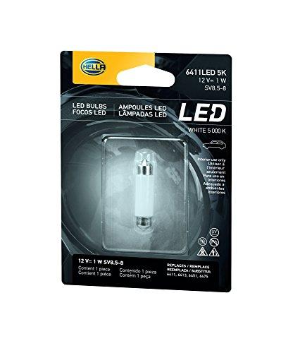 HELLA 8GL 178 560-581 Glühlampe - LED - LED Retrofit - 12V/1W - Blisterpack - Menge: 1
