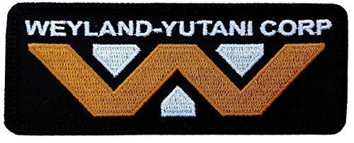 Titan One Europe - Tactical Weyland Yutani Corporation Logo Klettband Taktisch Aufnäher