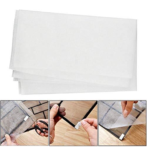Red de filtros de aire acondicionado, 2 o 4 unidades, no tejido, filtros de ventilación de aire para polvo/alergias/olores, perfecto para aire acondicionado/purificador/cobertor de polvo