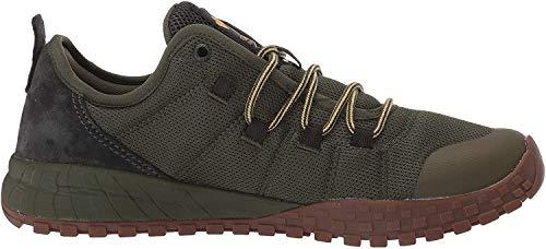 Columbia Men's Fairbanks Low Sneaker, Nori/Golden Nugget, 10.5 Regular US