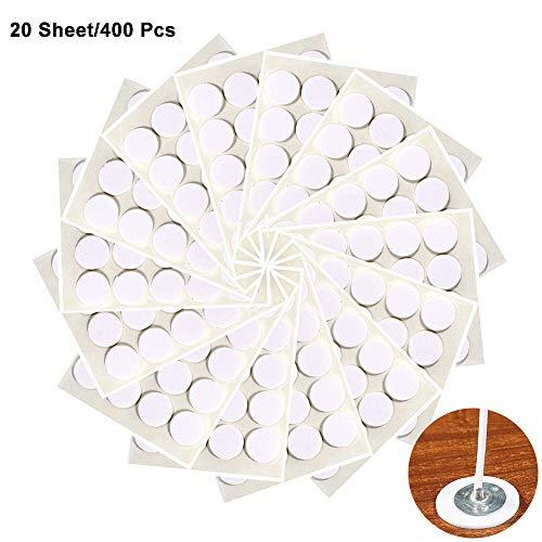 360 Piezas Pegatinas de Mecha de Vela, Adhesivo de Doble Cara Resistente Al Calor DIY Suministros de Fabricación de Velas Caseras para Fijar La Mecha