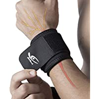 2-Pack HiRui Wrist Compression Strap & Wrist Brace Sport Wrist Support