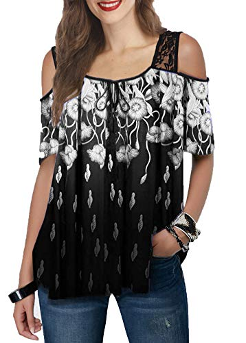 Neues Kurzarm-Sommer-T-Shirt mit Damenmode