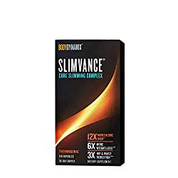 top 10 gnc weight loss Complex Body Dynamix Slimvance Core slimming, 120 capsules for 30 days, Thermogenic Burn 12 …