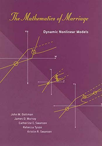 The Mathematics of Marriage: Dynamic Nonlinear Models (A Bradford Book)