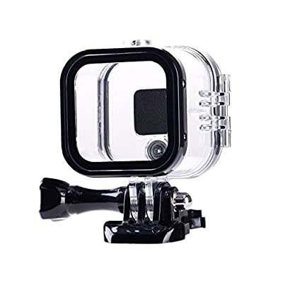 Suptig Replacement Waterproof Case Protective Housing for GoPro Session Hero 4session, 5session Outside Sport Camera for Underwater Use - Water Resistant up to 196ft (60m) from Suptig