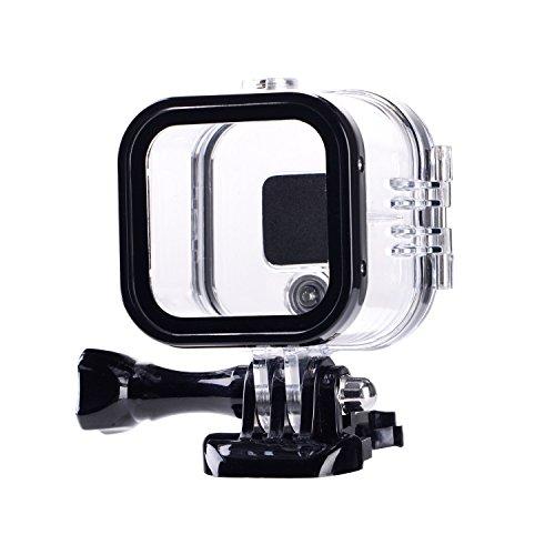 Suptig de remplacement boîtier étanche boîtier de protection pour Gopro Hero 4session, 5session à l'extérieur Sport Camera pour une utilisation sous l'eau–Résistant à l'eau jusqu'à 59,7m (60M)...