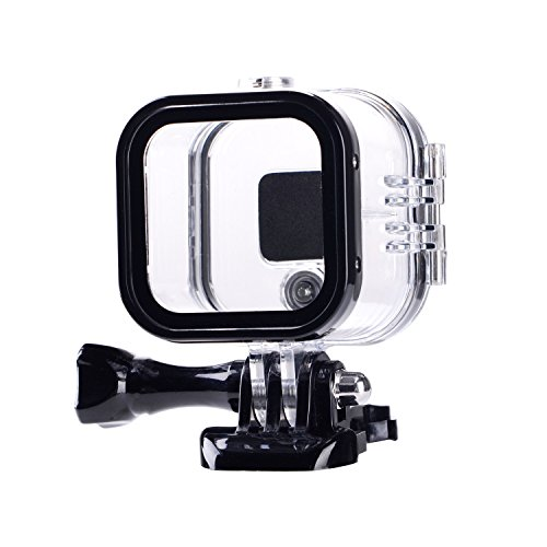 Suptig Replacement Waterproof Case Protective Housing for GoPro Session Hero 4session, 5session Outside Sport Camera for Underwater Use - Water Resistant up to 196ft (60m)