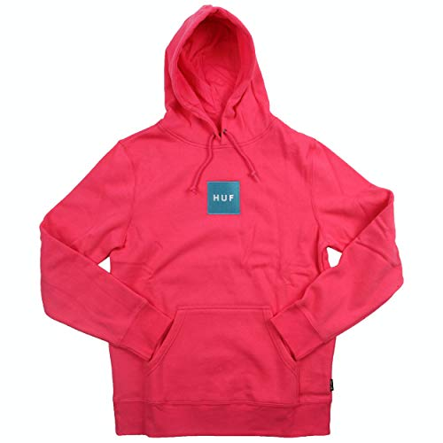 HUF, Sweat hood box logo, Magenta - S