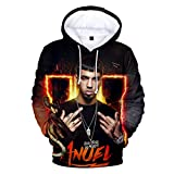 FGYUI Anuel AA Hoodies Pullover Sweatshirt Pockets for Mens/Womens/Youth