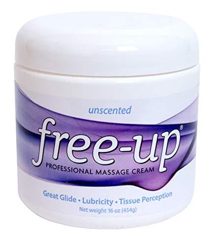 PrePak Products Freeup Massage Cream Unscented Net WT. 16 oz (454g)