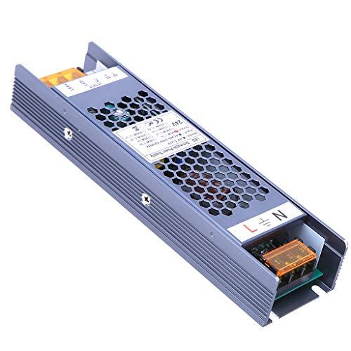 YAYZA! Compacto IP20 24V 2.5A 60W Regulable Transformador de Bajo Voltaje Fuente Alimentación Conmutación de CA/CC Adaptador Módulo PSU Admite 2 en 1 Control de Iluminación Atenuación TRIAC y
