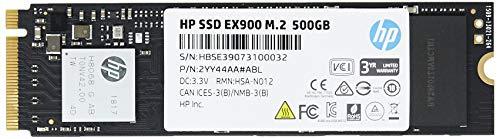 HP SSD EX900 2YY44AA#ABL, 500 GB, M.2, 2100 MB/s, 1500 MB/s, para PC, Laptop, Ultrabook