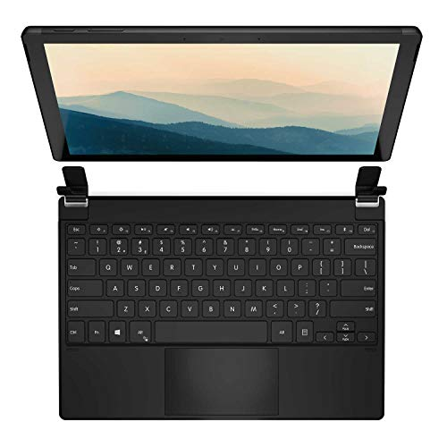 Brydge 12.3 Pro+ Wireless Keyboard with Precision Touchpad | Compatible with Microsoft Surface Pro 7, 6, 5 & 4 | Designed for Surface | (Black)