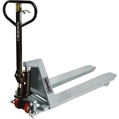 Roughneck High-Lifting Hydraulic Pallet Truck - 2,200lb. Capacity