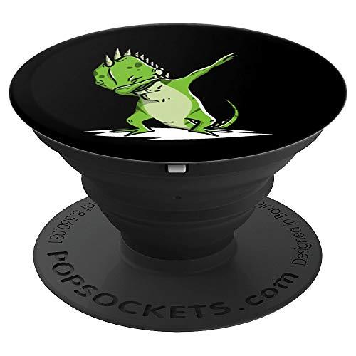 Dabbing Leguane Dab Dance Lustiger Haustier Geschenk - PopSockets Ausziehbarer Sockel und Griff für Smartphones und Tablets