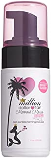 Mermaid Mousse by Million Dollar Tan - Extreme Face - 4 oz - Get a Back From the Beach Tan Without the Sun