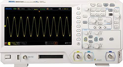 Osciloscopio digital Rigol MSO5152-E MSO5152-E 150 MHz 2 canales 4 Gech/s 100 kpts 8 bits 1 pc(s)