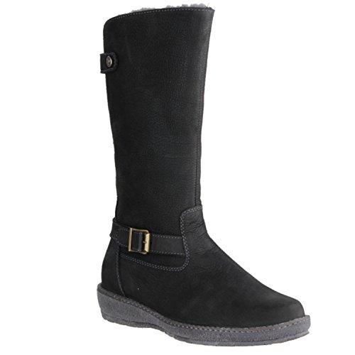 Waldloper dames laarzen 533904 zwart 382232
