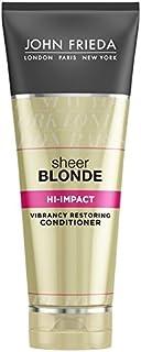 John Frieda Sheer Blonde Hi Impact Conditioner 250ml (Pack of 6) - ジョン?フリーダ膨大なブロンドハイインパクトコンディショナー250 x6 [並行輸入品]