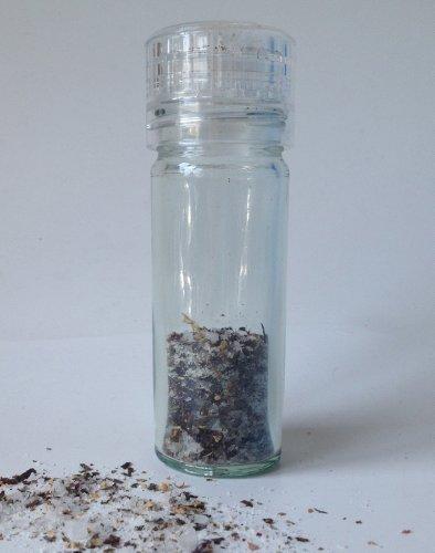 Salz- und Pfeffermühle aus Glas, 100 ml, 2 Stück