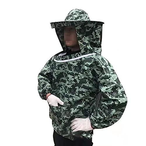Beekeeping clothes Con cap suministros para el hogar en la parte superior del cuerpo granja anti bee velo disfraz de apicultura ropa protectora unisex verano apicultura