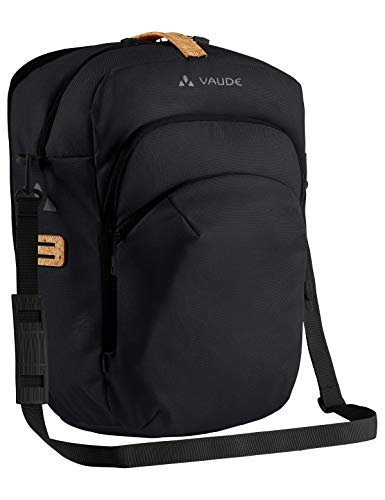 Vaude RT-Hinterradtaschen Eback Single, Black, One Size, 14367