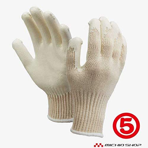 丸五 作業手袋 万年-2#002 ゴム引き手袋 1双 強力 ゴム手袋 土木建築 運送業向け フリー 白