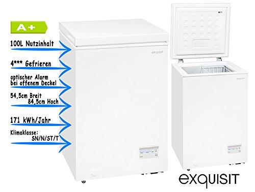 Exquisit GT 100-4 EA+ Gefriergerät / 100 liters