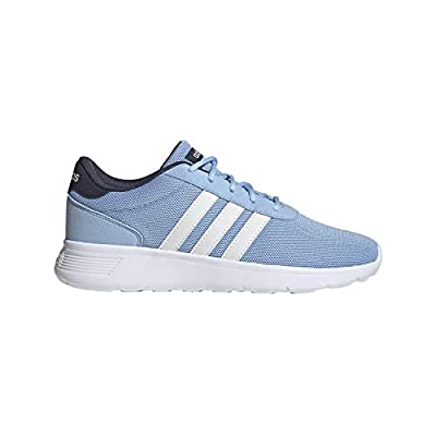 adidas W Lite Racer Glow Blue/White/Trace Blue Running Shoes 7.5