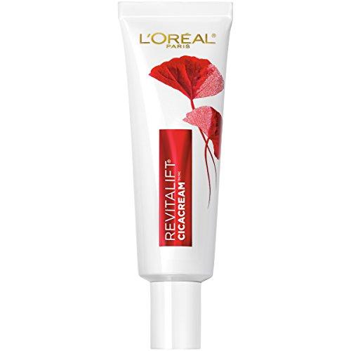 41RpO lzTXL - L'Oreal Paris Revitalift Cicacream Anti-Aging Face Moisturizer with Centella Asiatica for Anti-Wrinkle and Skin Barrier Repair, Fragrance Free, Paraben Free, 1.7 fl. oz.
