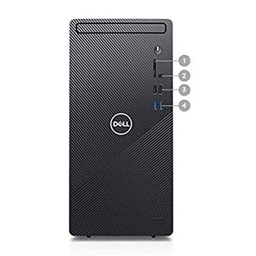 2021 Dell Inspiron Business Desktop Computer, 6-core Intel Core i5-10400 Processor, 32GB RAM, 2TB HDD+2TB SSD, Intel UHD Graphics 630, Wired Keyboard and Mouse, Windows 10, Black
