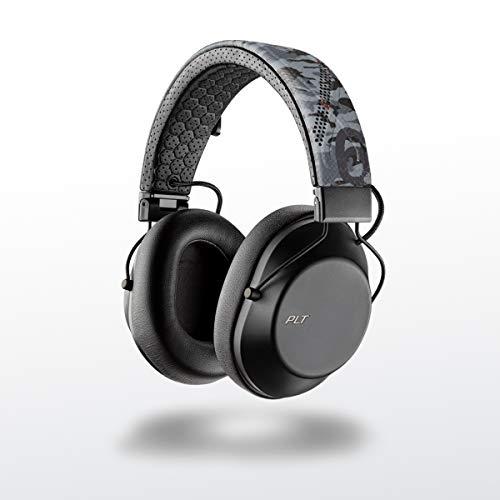 Plantronics BACKBEAT FIT 6100 Auriculares deportivos Bluetooth, en el oído, IPX5 con diadema y almohadilla de espuma con memoria, camuflar