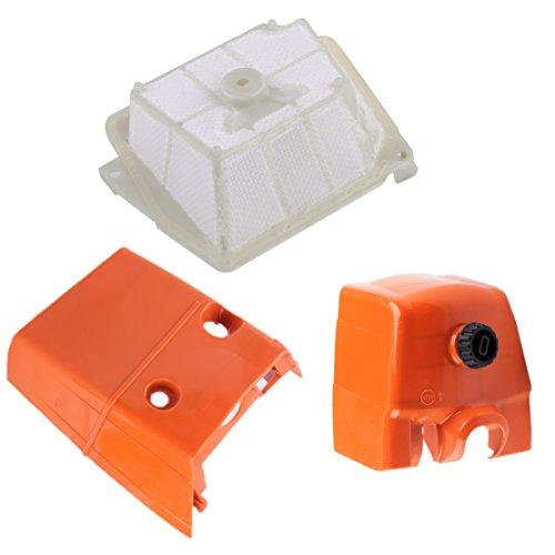 Luftfilter & Vergasergehäuse Deckel & Zylinderabdeckung passend für Stihl MS361 MS341