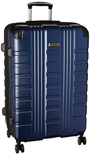 Kenneth Cole Reaction Scott's Corner 28' Hardside Expandable Spinner TSA Lock Checked Travel Suitcase, Navy