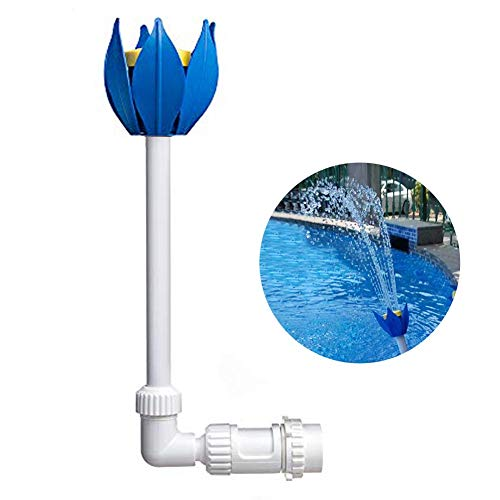 CONIE Pool Fountain Fun Water Sprinkler Above & Inground Swimming Pool Waterfalls Spray Pond Decor