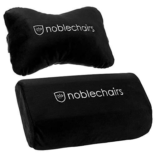 noblechairs Kissen-Set für Epic/ICON/Hero Gaming-Stühle - Schwarz/Weiß