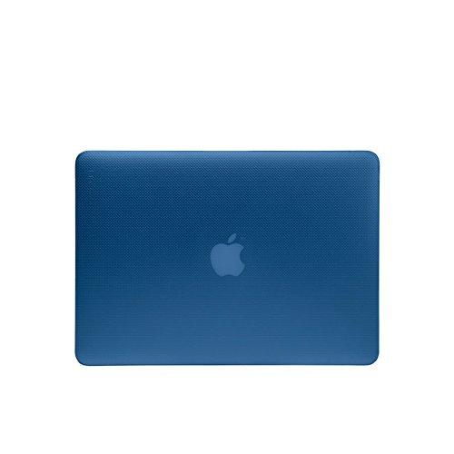 """Incase Hardshell Hartschalen Schutzhülle für Apple MacBook Air 11\"""" - transparent (dunkel blau) [3D Dot-Design I Lüftungsschlitzaussparungen I Leicht & dünn I Anti-Rutsch Füße] - CL60618"""