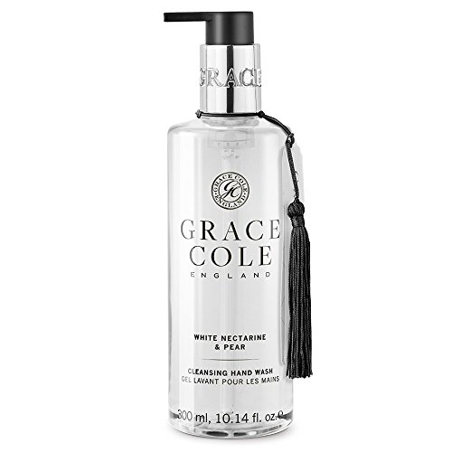 Savon liquide de 300 ml par Grace Cole - Nectarine blanche et poire